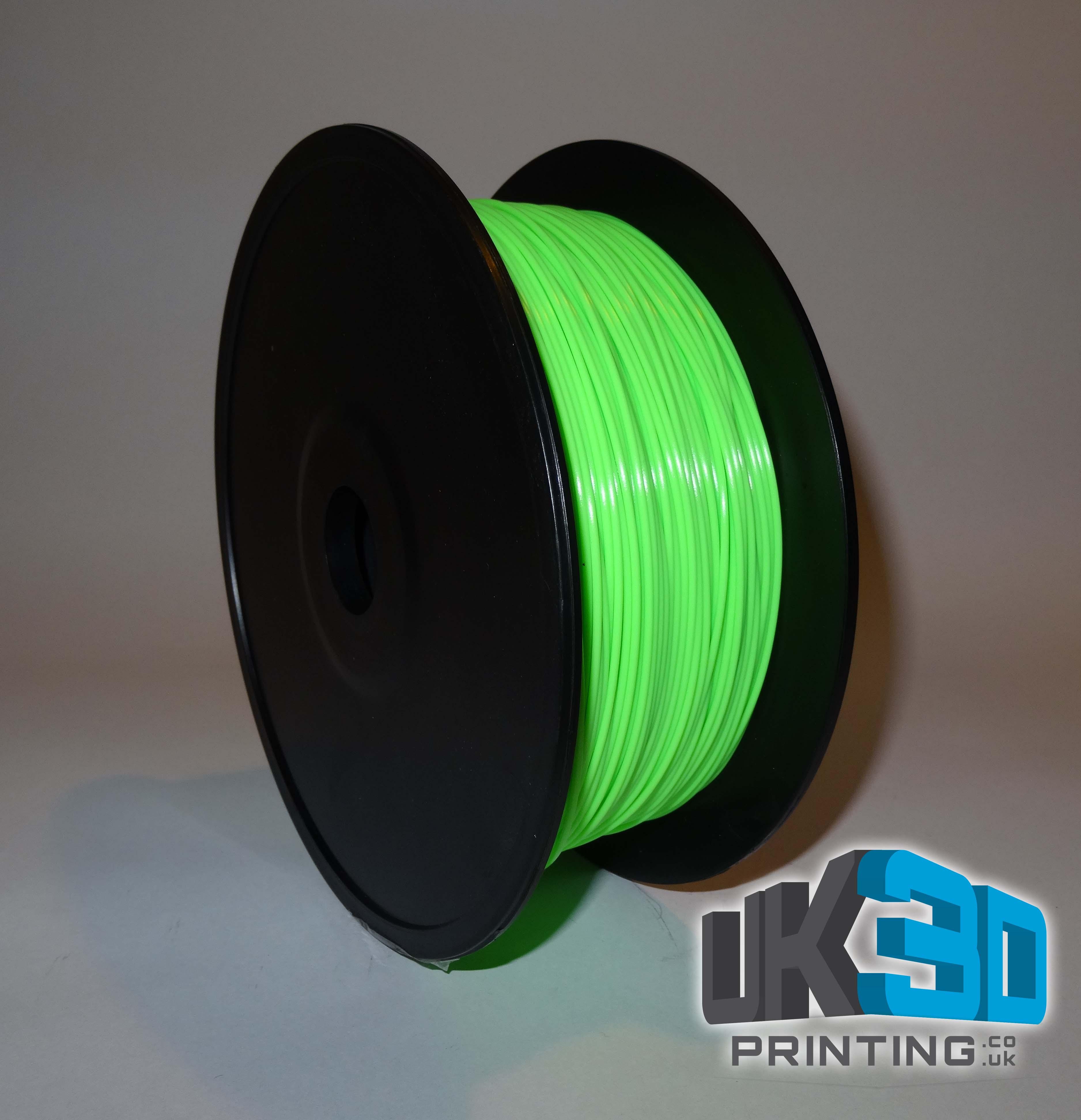 Green Pla 3d Printer Filament 1 75mm Uk3d Printing